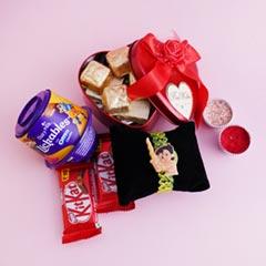 Chhota Bheem Rakhi N Chocolates Hamper