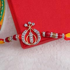Designer AD Khanda Rakhi - Send Designer Rakhi Online