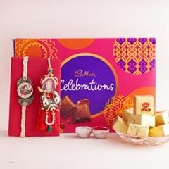 Bhaiya Bhabhi Rakhi with Celebration N Choco Bites - Bhaiya Bhabhi Rakhi