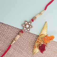 Flowerly Designed Rakhi