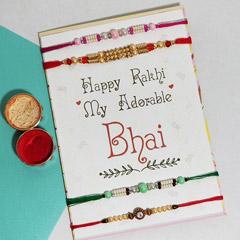 4 Rakhi for Adorable Bhai