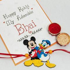 Mickey Donald Rakhi - Send Rakhi to New York