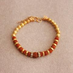 Striking Rudraksha Bracelet