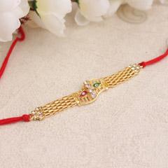 Golden Splendour Rakhi
