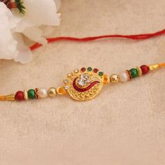 Shiny Multicolored Rakhi