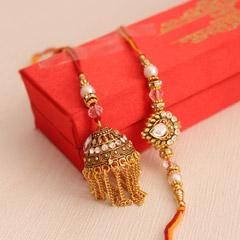 Designer Lumba Rakhi set