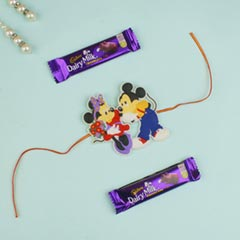 Kids Rakhi with Milk Chocolate For UK