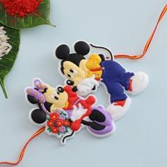 Micky Mouse Cartoon Rakhi For UK