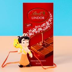 Kids Chota Bheem Rakhi with Chocolate Bar For UK
