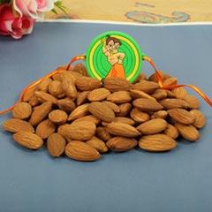 Chota Bheem Rakhi with Dry FruitFor UK - Send Rakhi to London