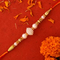 Elegant Pearl And Mauli Rakhi