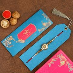 Ethnic Pearl Designer Rakhi